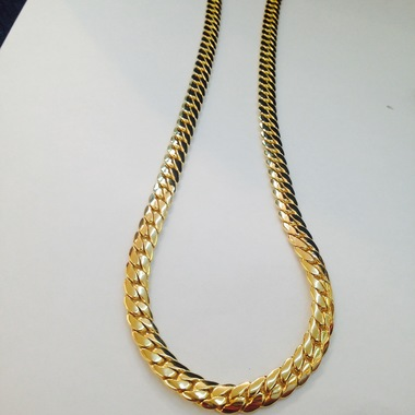14K Gold Filled Miami Cuban Chain 24