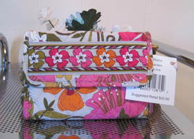Euro Wallet in Tea Garden NWT