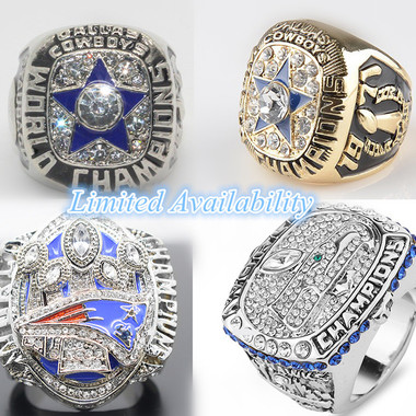 Limited Availability!!!!!! COWBOYS Super Bowl Ring Championship Ring Football Ri