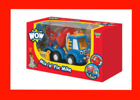 NIB WOW Mix n' Fix Mike Baby Toy Playset, 3-Piece