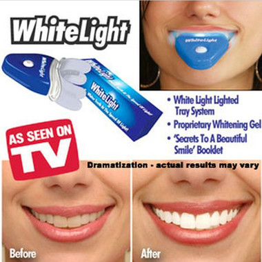 Bright Smile New Dental White Teeth Whitening with LED Light For men women care