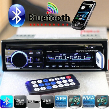 CN 2017 Brand New Bluetooth V2.0 Car Radio Stereo Audio MP3 Player 12V In-dash S