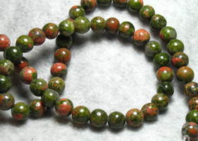Unakite Beads 8mm