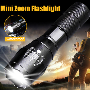 E17/G700 Cree XML T6 3000LM Tactical cree led Torch Zoomable LED Flashlight Torc