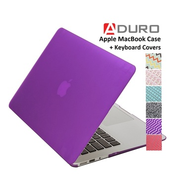 Apple Notebook Case for MacBook Air and Pro laptop - SoftTouch Case and Keyboard