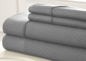 King  4 Piece Embossed Sheet Set SOHO