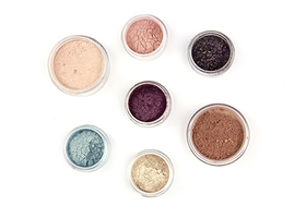 Hot Summer Night Kit - Mineral Blush and Eye Shadows