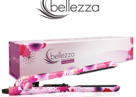 "Bellezza Pro Beauty  1.25"" Ceramic Flat Iron"