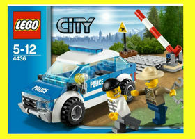 NIB LEGO City Police Patrol Car 4436