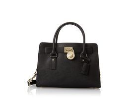 Michael Kors Hamilton Saffiano Leather E/W Satchel