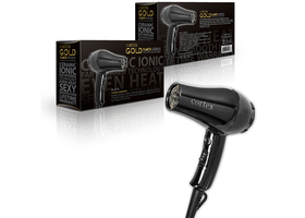 Cortex Mini Hair Dryer International Gold Series Travel