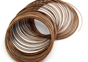 Gorgeous 100+ Loops Copper Memory Wire