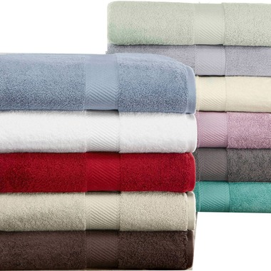 SET OF 4 -Luxury Hotel & Spa Heavy Extra Absorbent Bath Towel 100% USA Cotton, M