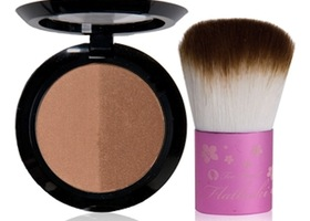 Too Faced Sun on the Run Bronzer & Flatbuki Brush!
