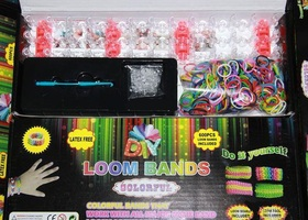 GREAT GIFT Color Loom Rubber 600 Band Bracelet Kit