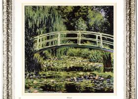 Monet (1840-1926) - White Waterlilies - Retail $500