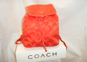 NWT Coach Getaway Packable Backpack