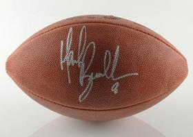Mark Brunell - Autographed NFL Football - $250