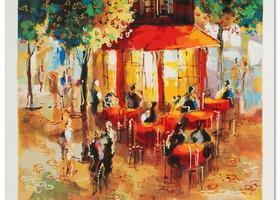Michael Rozenvain - Coffee in Paris - $300