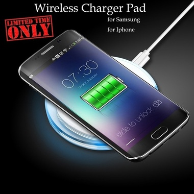 American Flag Qi Wireless Charger Charging Pad For iPhone,Samsung Android