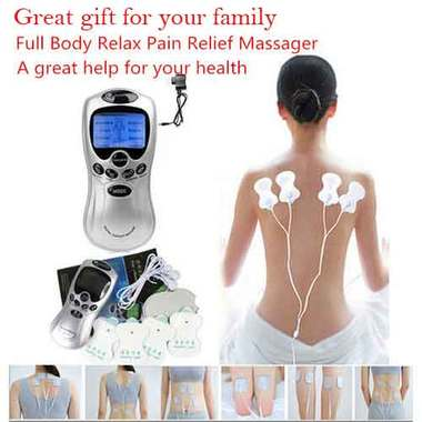 Free Shipping Health Care Tens Acupuncture Electric Therapy Massager Relax Pain