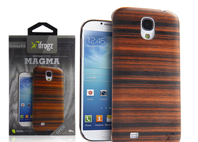 iFrogz Natural Wood Case for Samsung Galaxy S4