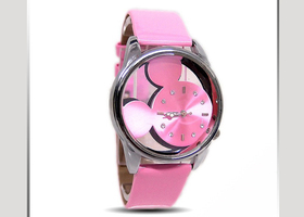 Pink or White Mouse Watch