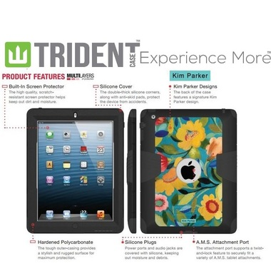 Kim Parker Trident Kraken A.M.S. Case for Apple iPad 2/3/4th Generation