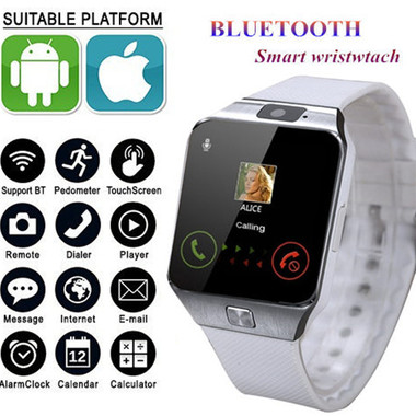 DZ09 Smartwatch Support UP to 32GB TF Card,Bluetooth Smart Camera GSM SIM/TF Pho