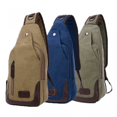 Canvas Shoulder Sling Bag