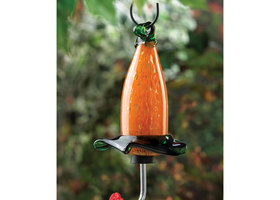 Honeysuckle Hummingbird Feeder