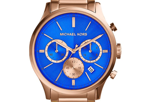 Michael Kors Bailey Rose Gold Tone Chronograph Watch