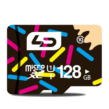 128 GB Flash Memory High Speed Micro SD Card for Smartphone