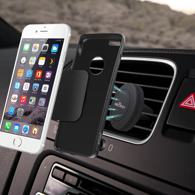Air Vent Smartphone Car Mount w/ Magnetic 1 Step Mounting Technology - Best Cell