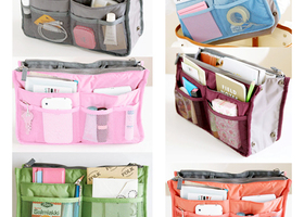 Handbag Organizer Purse Liner-12 Colors to Choose from
