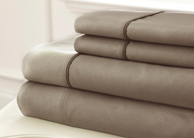 Cal. King  4 Piece Embossed Sheet Set SLOAN