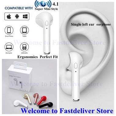 Super Mini Style  Bluetooth Earbud Mini Wireless Headset In-Ear Sport and Blueto
