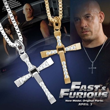 Fashion Movie Cross Necklaces for Men/Women