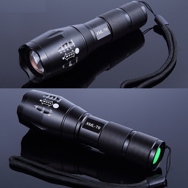 Tactical Flashlight Powerful Torch Light