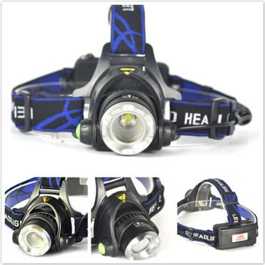 5000LM XM-L XML T6 LED Headlamp Headlight flashlight 18650 head light lamp