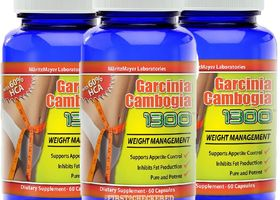 3 Bottles of Garcinia Cambogia 1300 Extract Pure