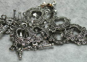 Fancy Oval Toggle Clasps
