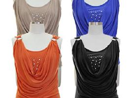 Beautiful Top with Studded neckline