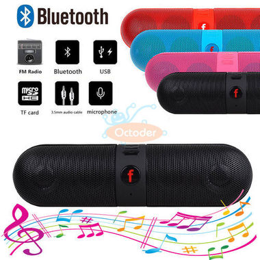 Bluetooth Speaker Capsule Colorful Cute Sound Quality High Quality New Design Fo