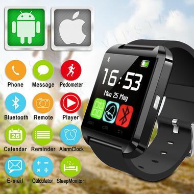 Bluetooth Android Digital Smart Watch