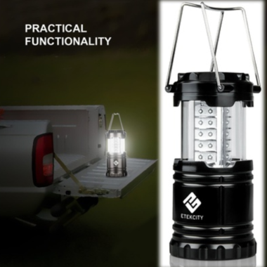 Etekcity 1 Pack Portable Outdoor LED Camping Lantern without Batteries