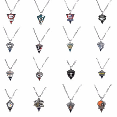 Are You Ready For Some Football!! Enamel NFL Team Medallion Necklaces...Your Cho