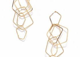 Geometric Mix Dangle Earring