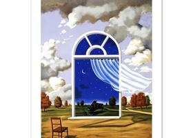 Rafal Olbinski - Nocture in E Flat Major - $950