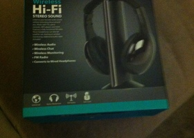 Wireless Hi-Fi stereo Headphone